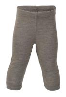 Engel's leggings i øko uld / silke - valnød