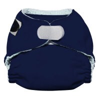 Imagine newborn AIO bambus 2.0 - velcro - navy fleet