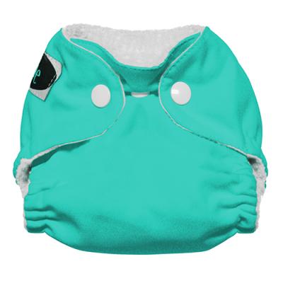 Imagine newborn AIO staydry - trykknapper - aquamarine