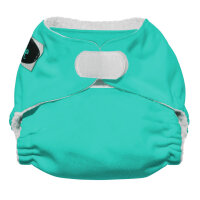 Imagine newborn AIO stay dry - velcro - aquamarine