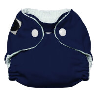 Imagine newborn AIO bambus 2.0 - trykknapper - navy fleet