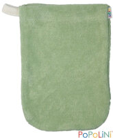 Popolini - vaskehandske børnehånd - grøn - 3 stk.