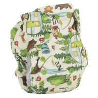 Smart Bottoms - dream diaper AIO 2.0 - campfire tails