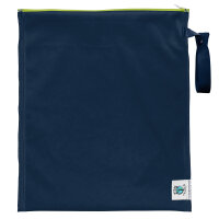Planet Wise - lite wetbag MEDIUM med lynlås og strop - navy