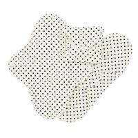 Imse Vimse økologisk stofbind normal dots SLIM 3 pk