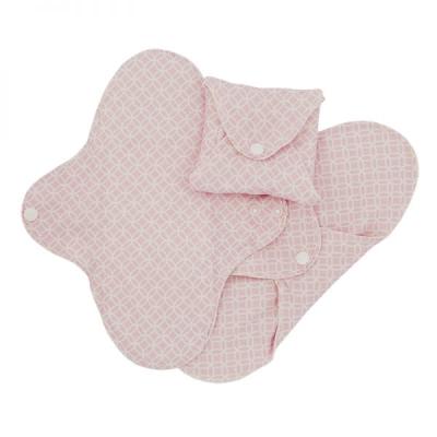 , Imse Vimse økologisk stofbind normal - pink halo 3 pk