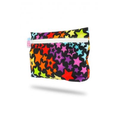 Petit Lulu wetbag til bind - rainbow stars