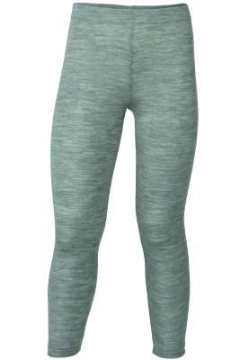 Engel's leggings i øko uld / silke - grå