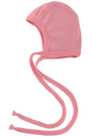 Engel babyhjelm i uld / silke - rosa