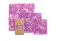 Bee's Wrap - 3 forskellige størrelser - mini's purple