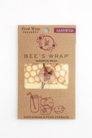 Bee's Wrap - sandwich wrap - bikube print - 1 stk