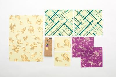 Bee's Wrap - stor pakke med 7 stykker