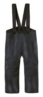 Disana bukser i kogt uld - mørk grå