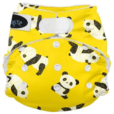 Imagine AIO 2.0 onesize - bambus - panda fold - velcro