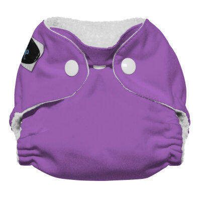 Imagine newborn AIO stay dry - amethyst - trykknapper